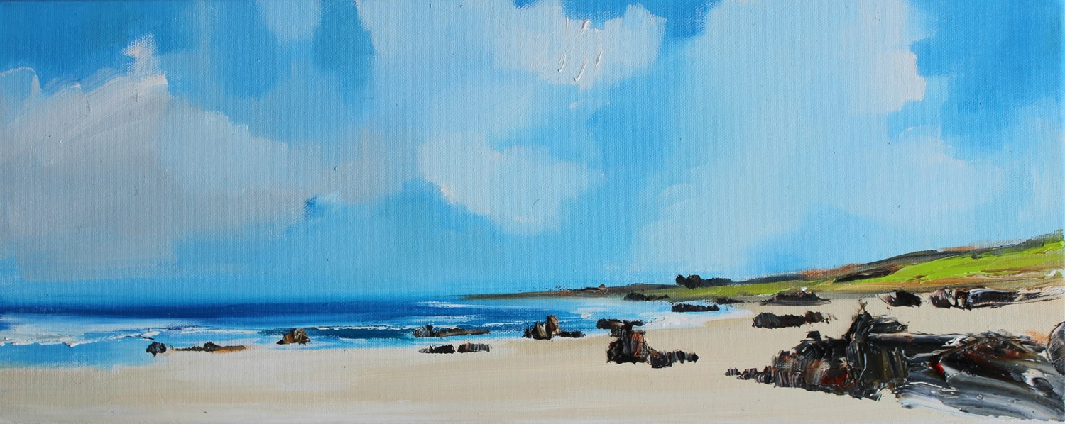 'Saligo Bay on Islay' by artist Rosanne Barr