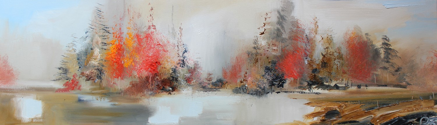 'Autumn is coming to an End' by artist Rosanne Barr