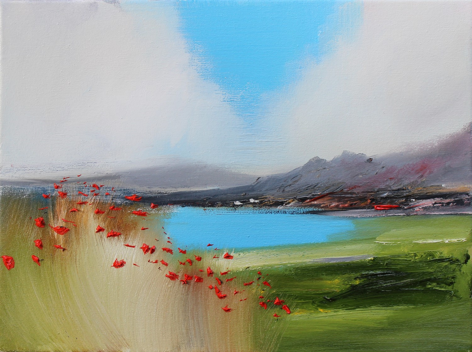 'A Summers Day by the Loch' by artist Rosanne Barr