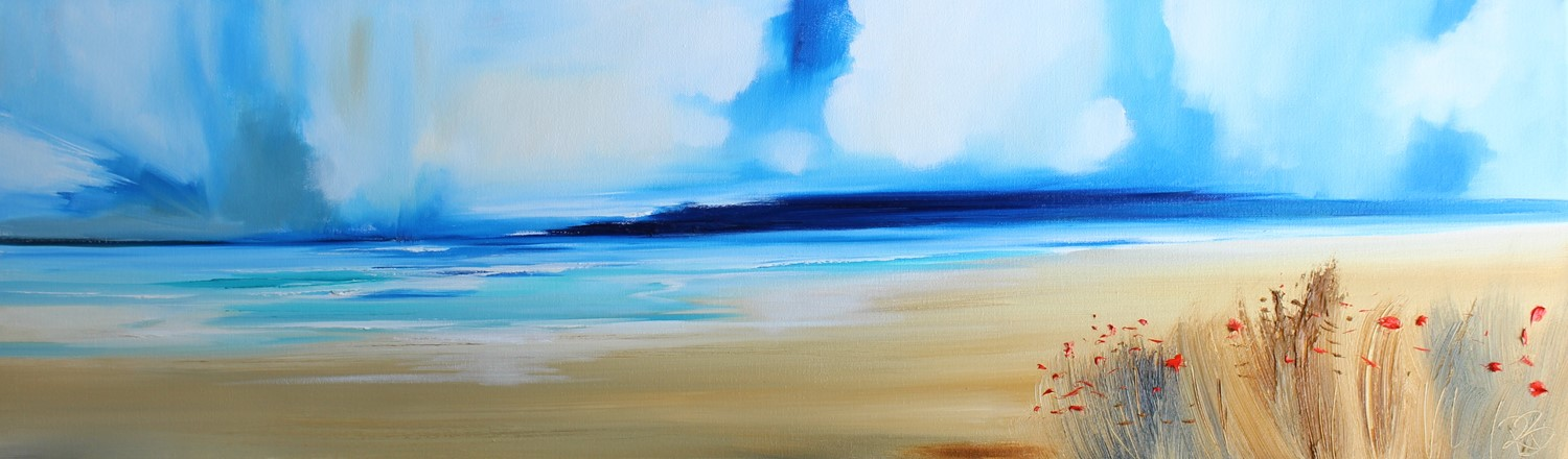 'Fleeting clouds over the Sea' by artist Rosanne Barr