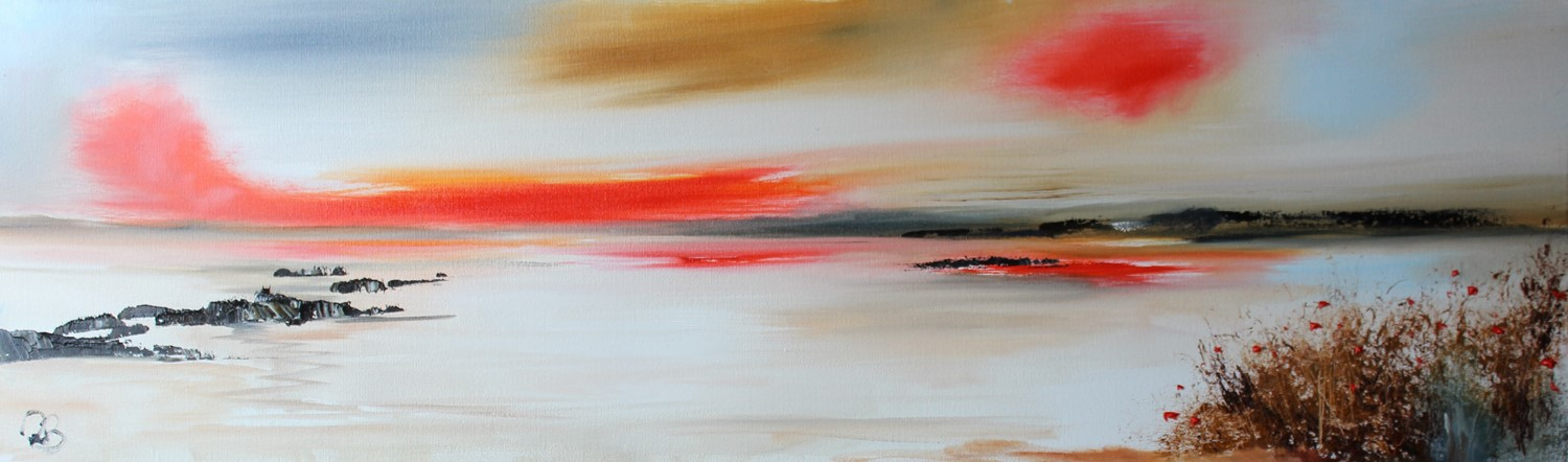 'Light after the sun sets' by artist Rosanne Barr