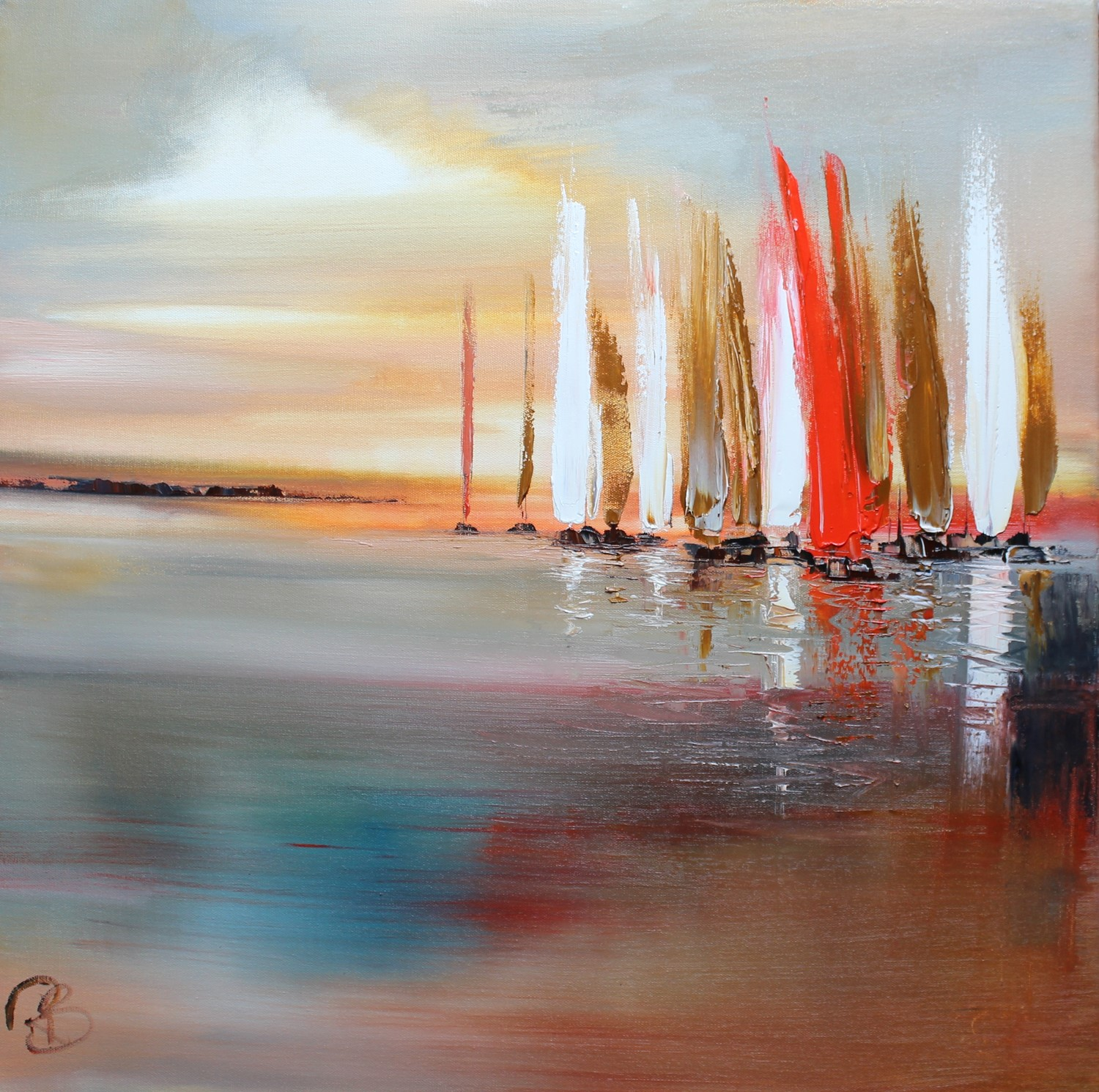 'At the Break of Day' by artist Rosanne Barr