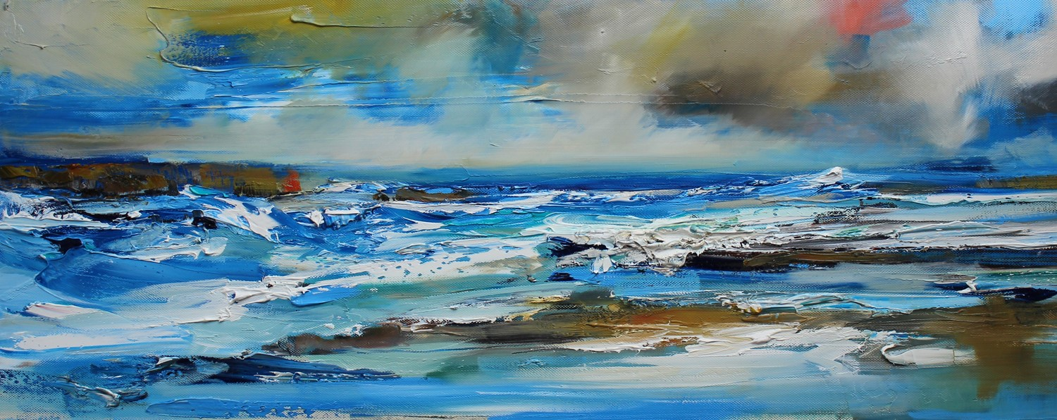 'Sea Surge' by artist Rosanne Barr