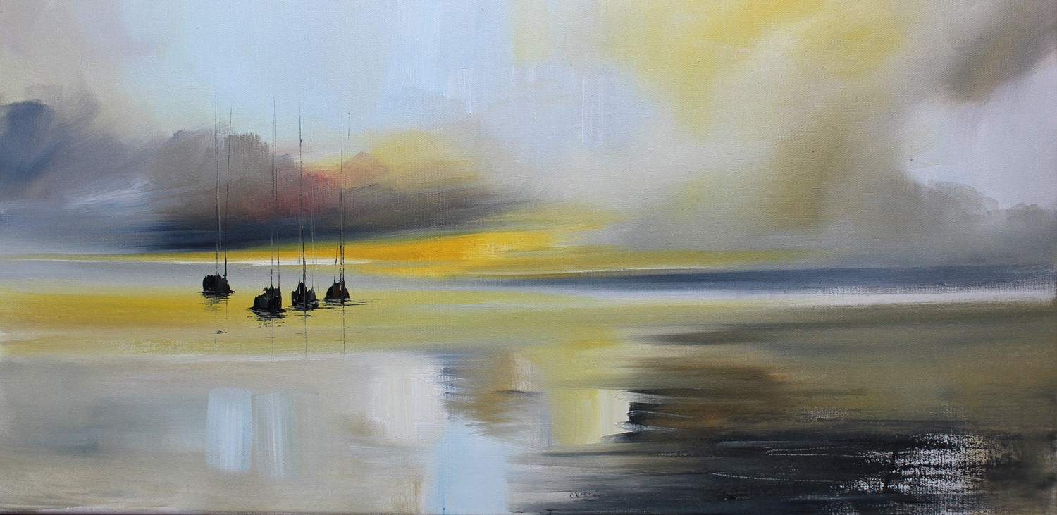 'Morning Reflections' by artist Rosanne Barr