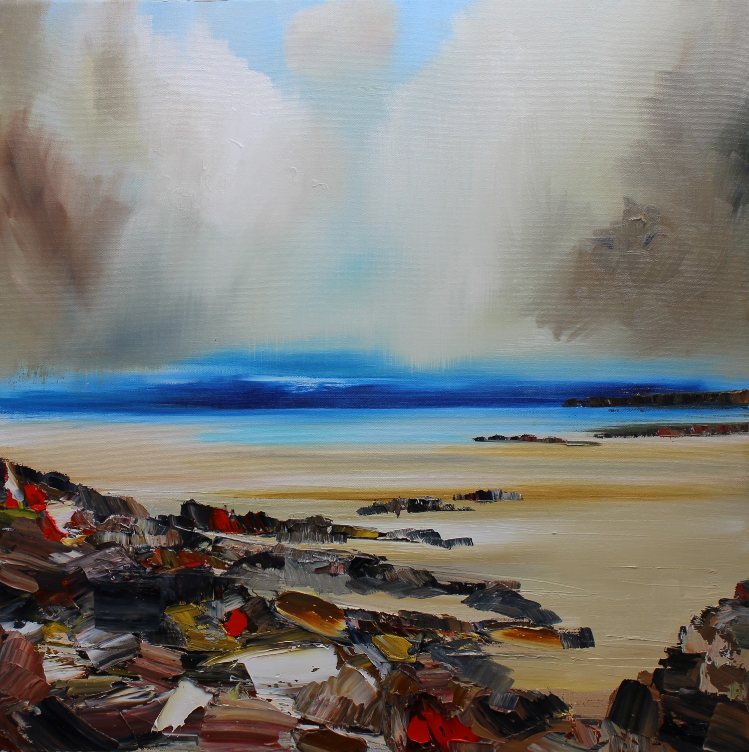 'A Patchwork of Rocks' by artist Rosanne Barr