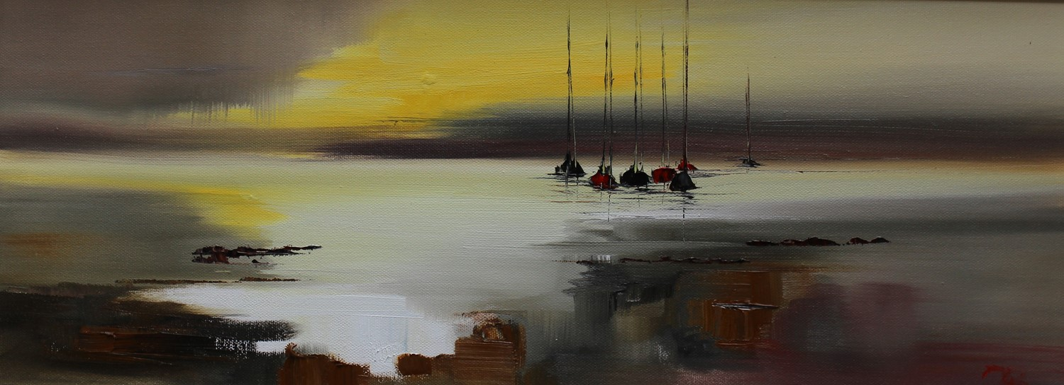 'All is Still at Dawn ' by artist Rosanne Barr