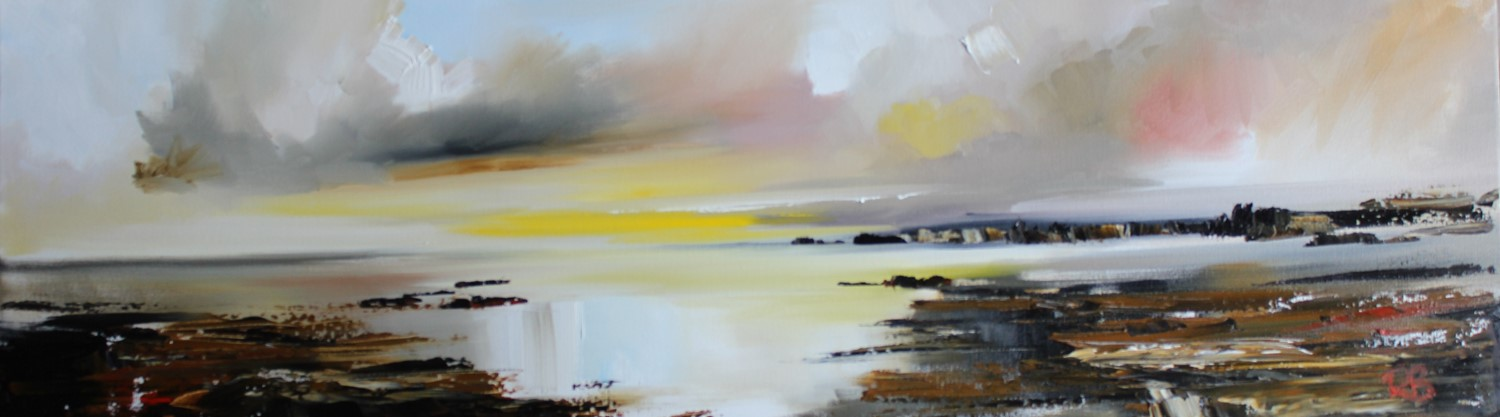 'The Tide is Drifting in' by artist Rosanne Barr
