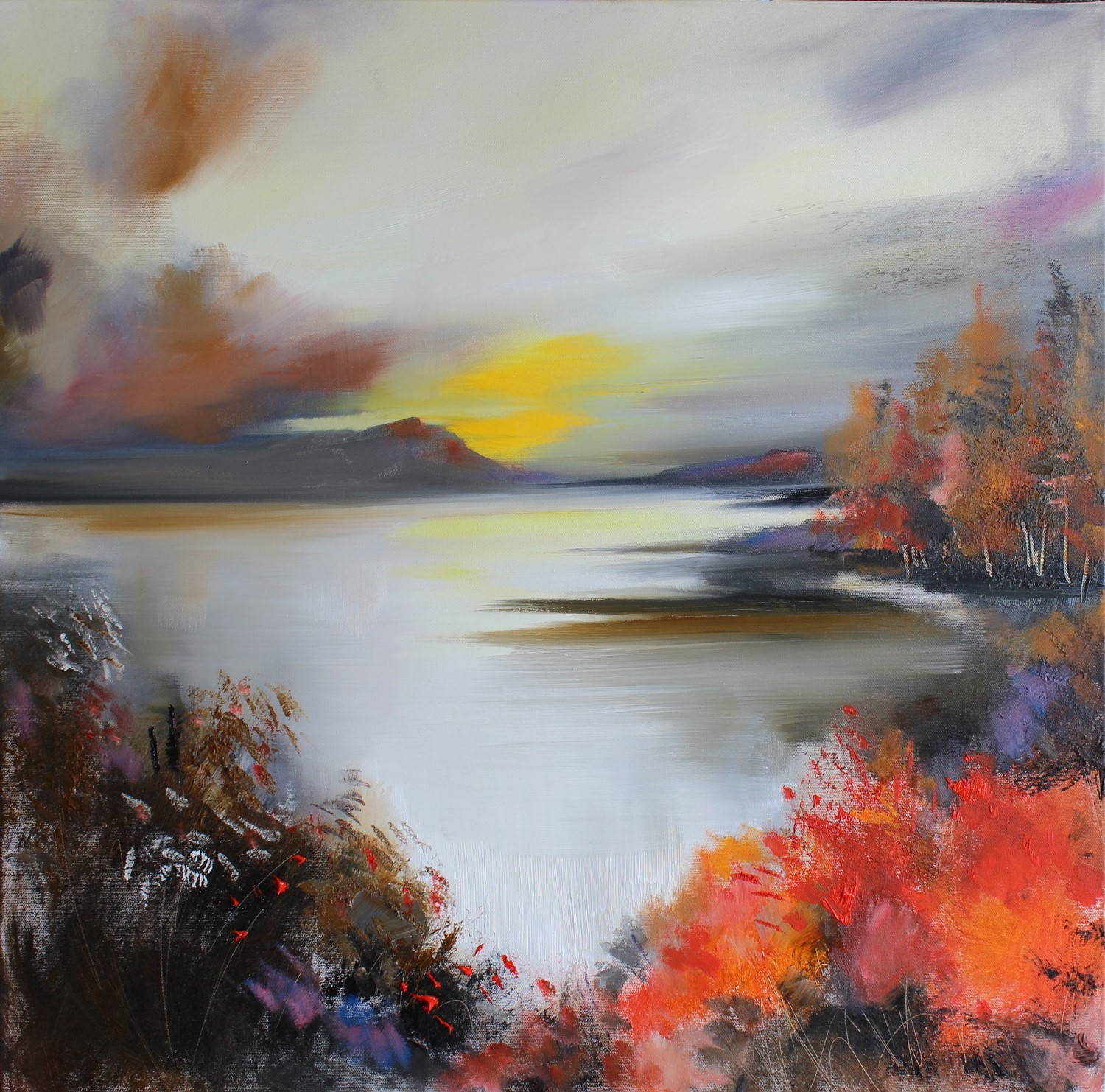 'A Morning in Autumn' by artist Rosanne Barr