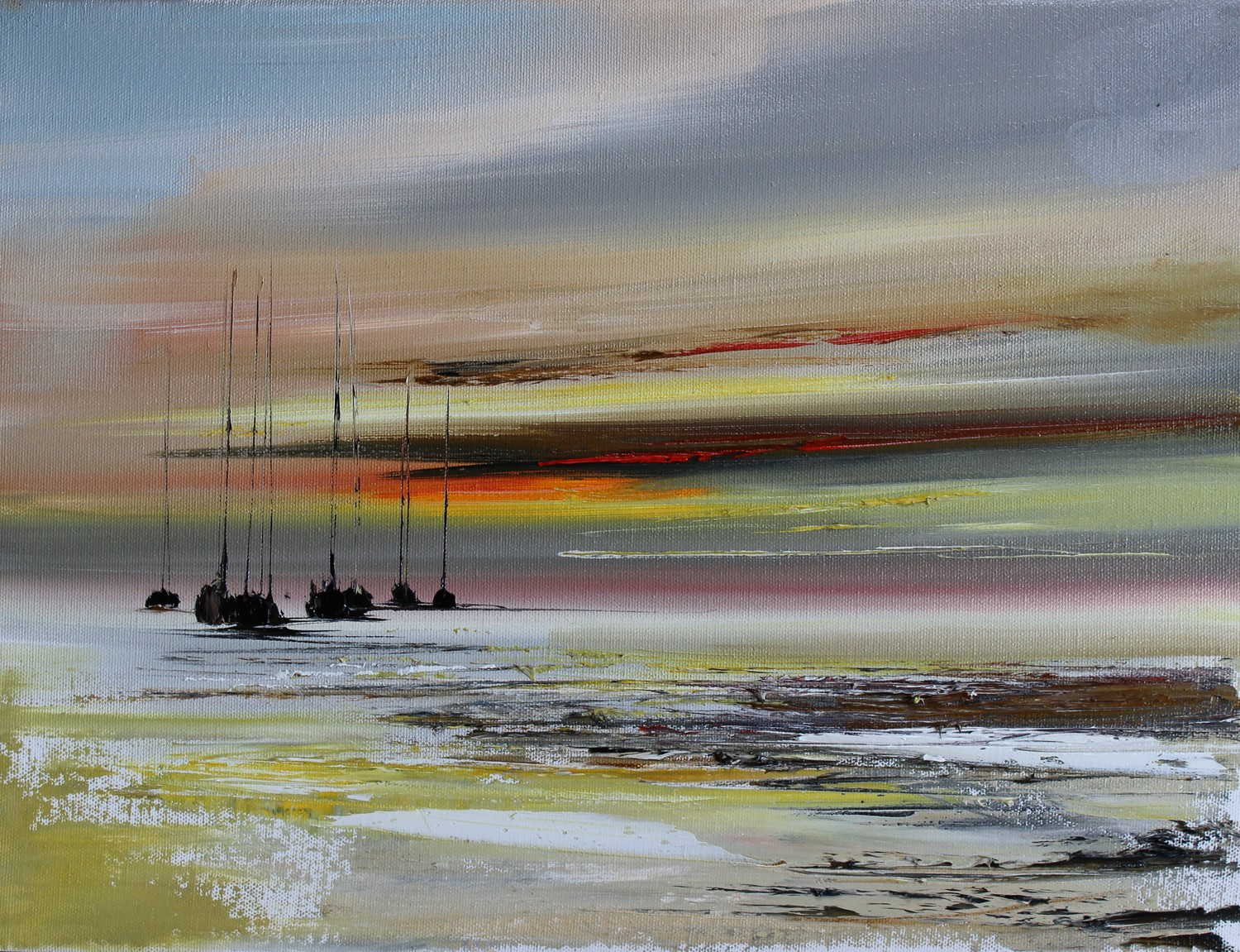 'Reflections from the shore' by artist Rosanne Barr