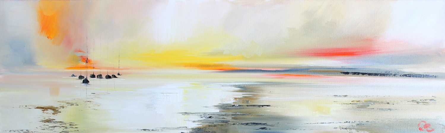'Basking in the Sunset' by artist Rosanne Barr