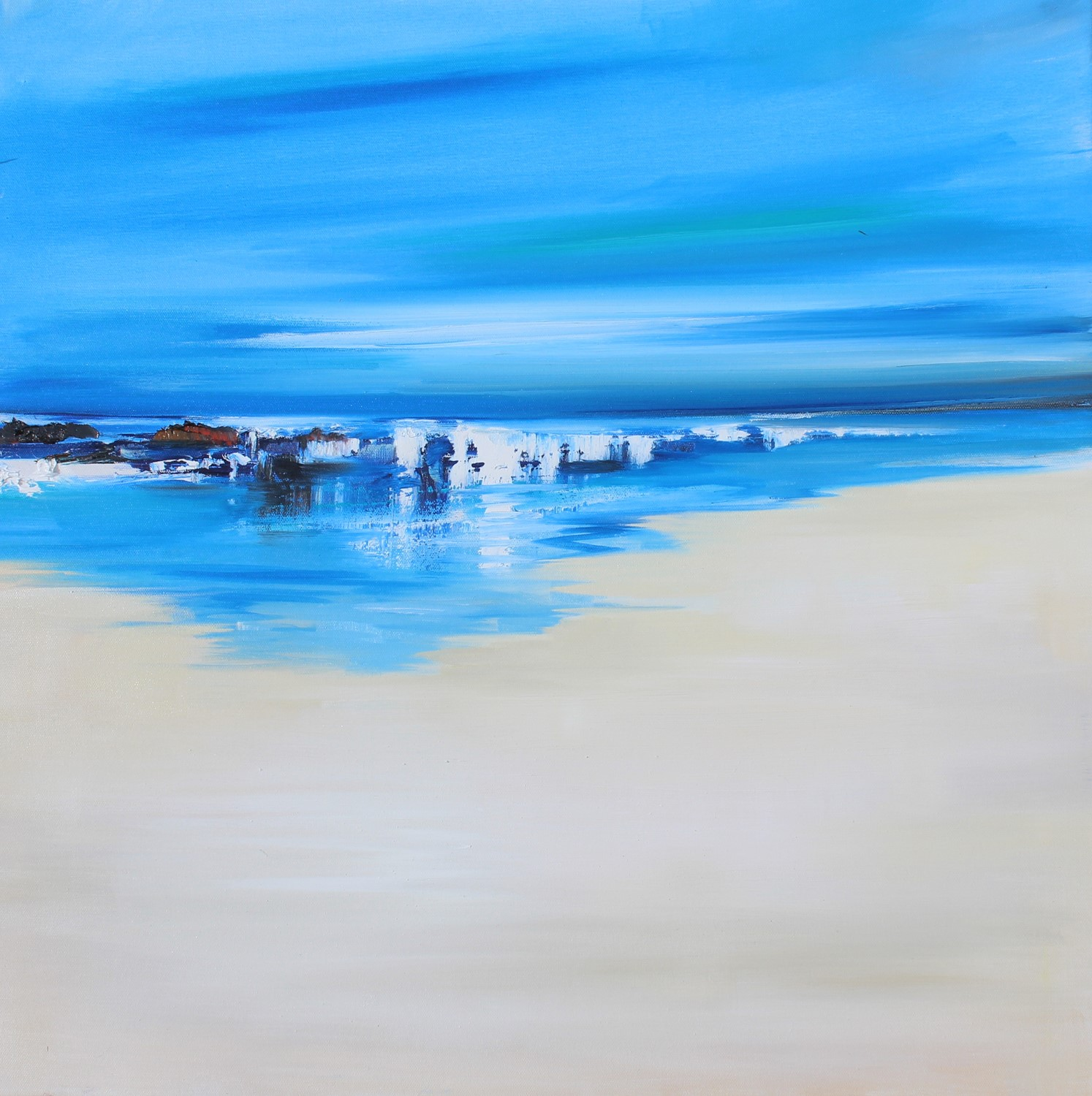 'A Gentle Surf' by artist Rosanne Barr