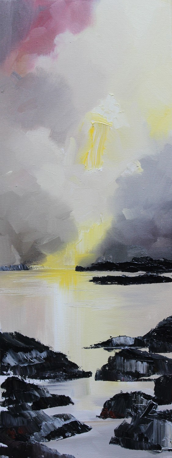 'Clouding the Sun' by artist Rosanne Barr