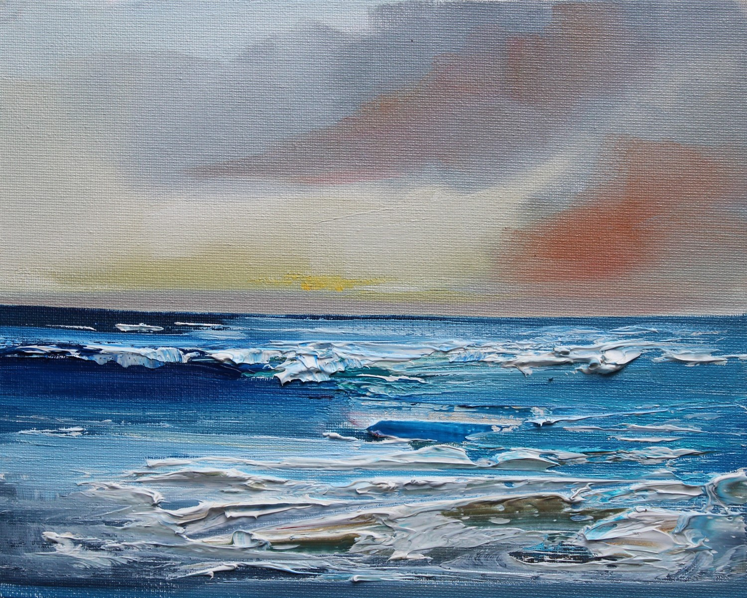 'Evening Sea Surf' by artist Rosanne Barr