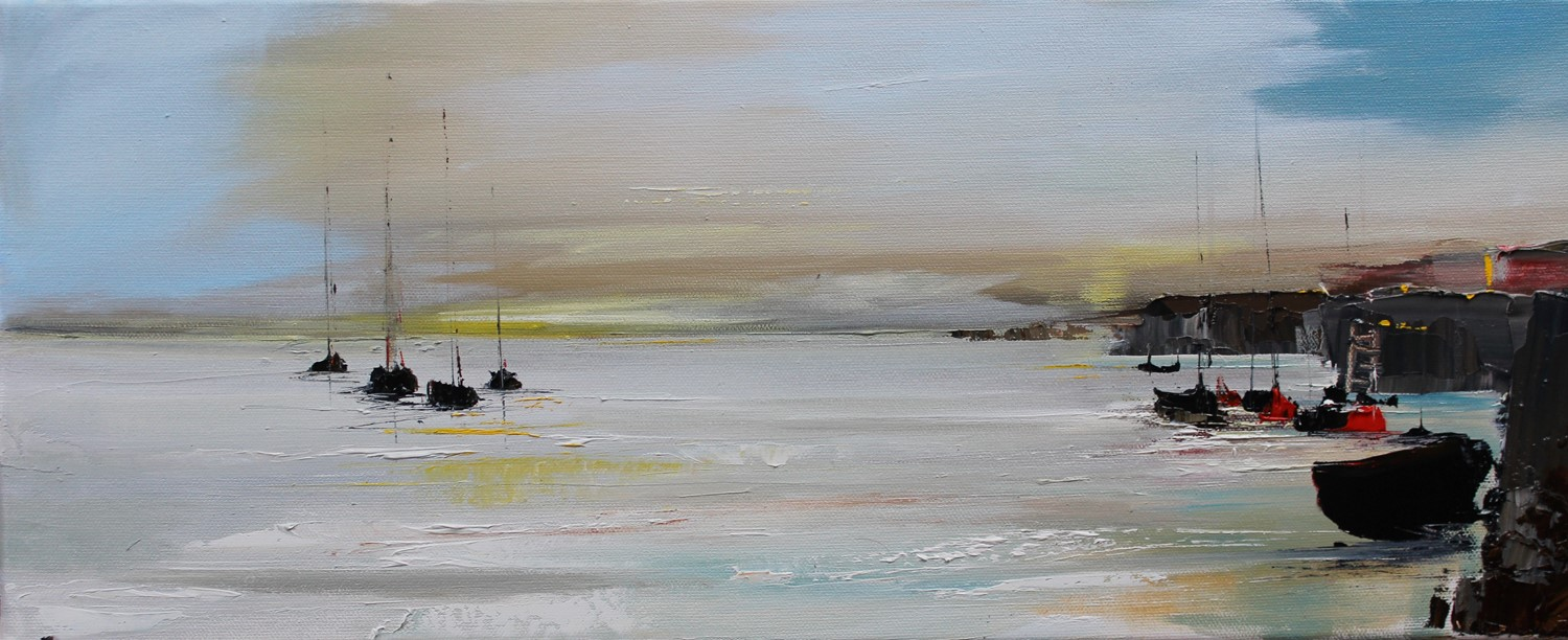 'Sunrise over the Harbour' by artist Rosanne Barr