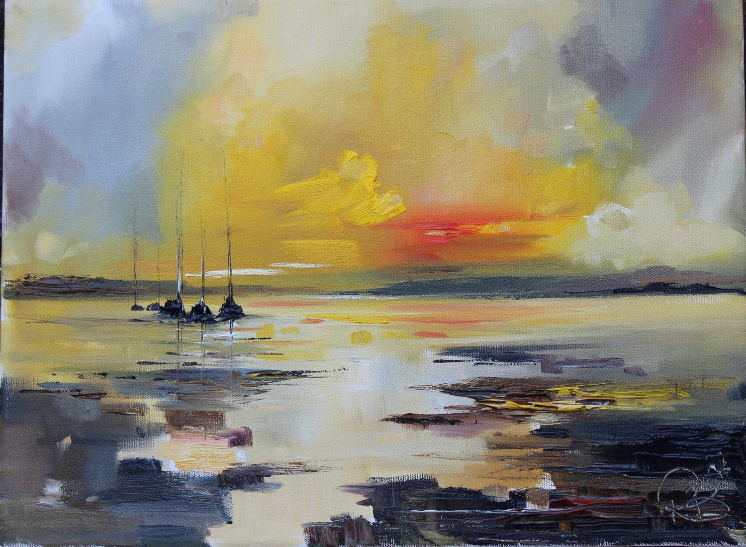 'Flooded with Light' by artist Rosanne Barr
