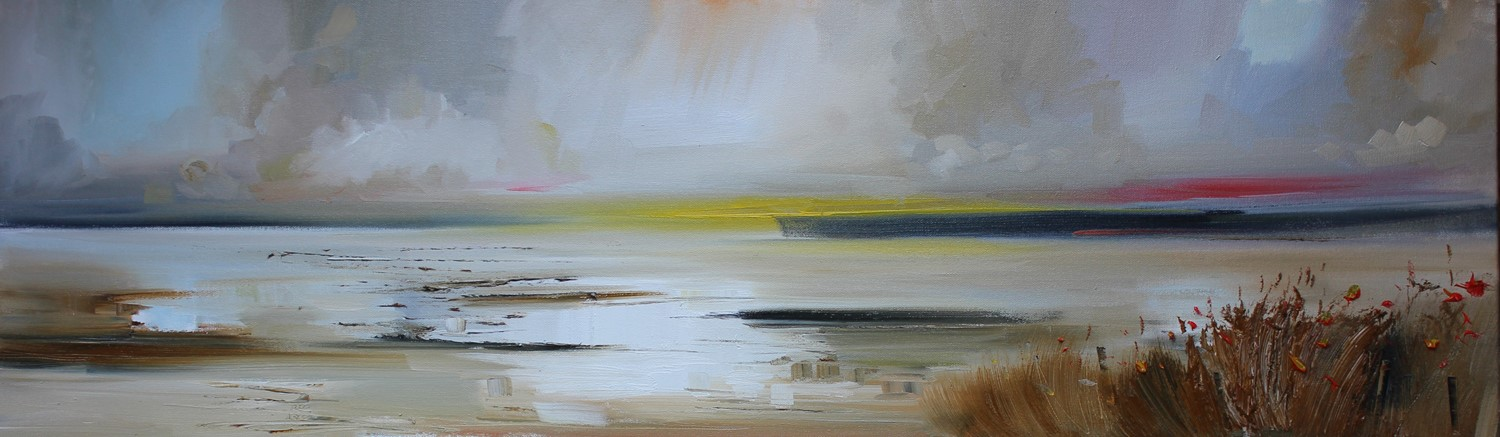 'Panorama from the Shore' by artist Rosanne Barr