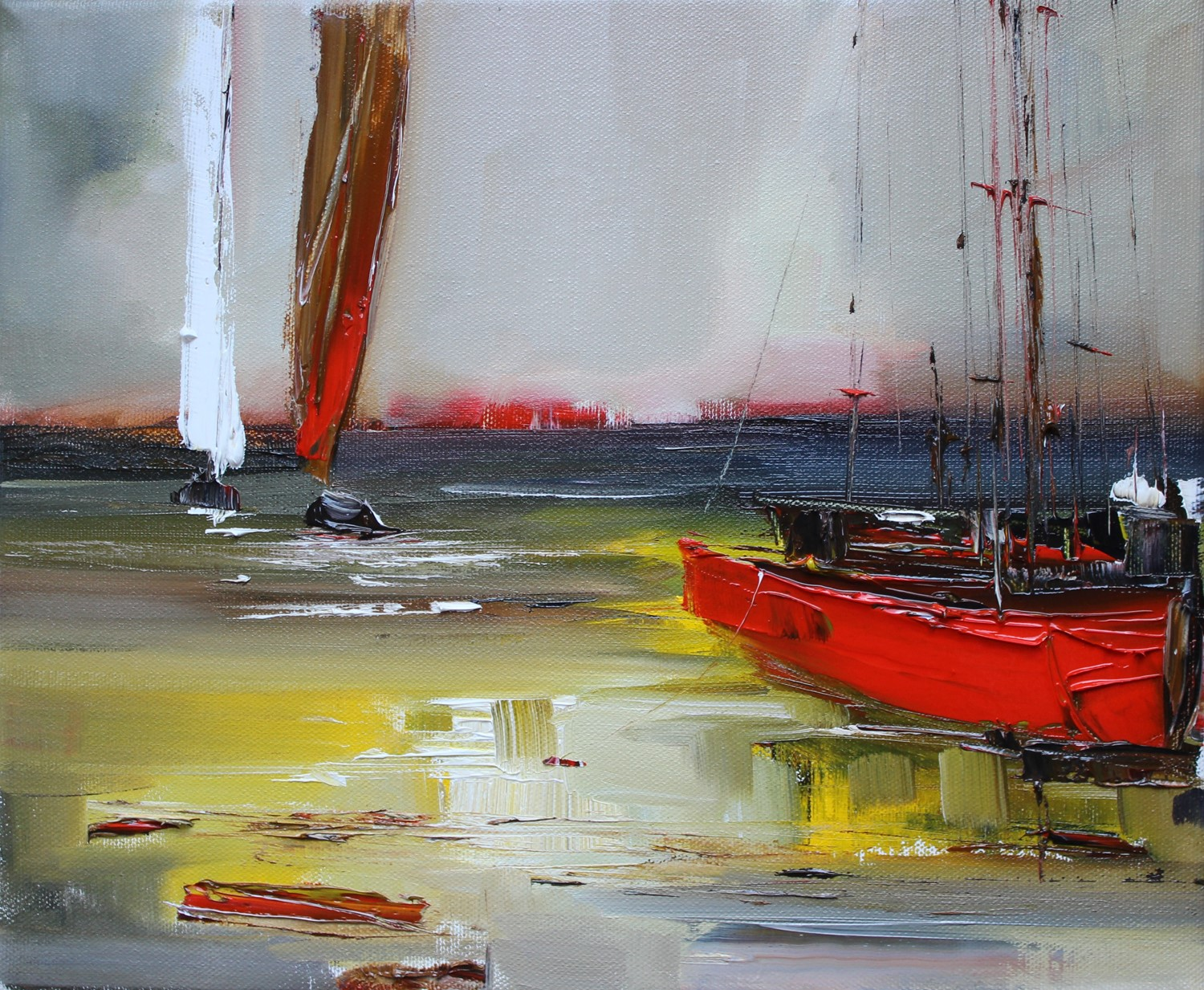 'Resting at the Shore ' by artist Rosanne Barr