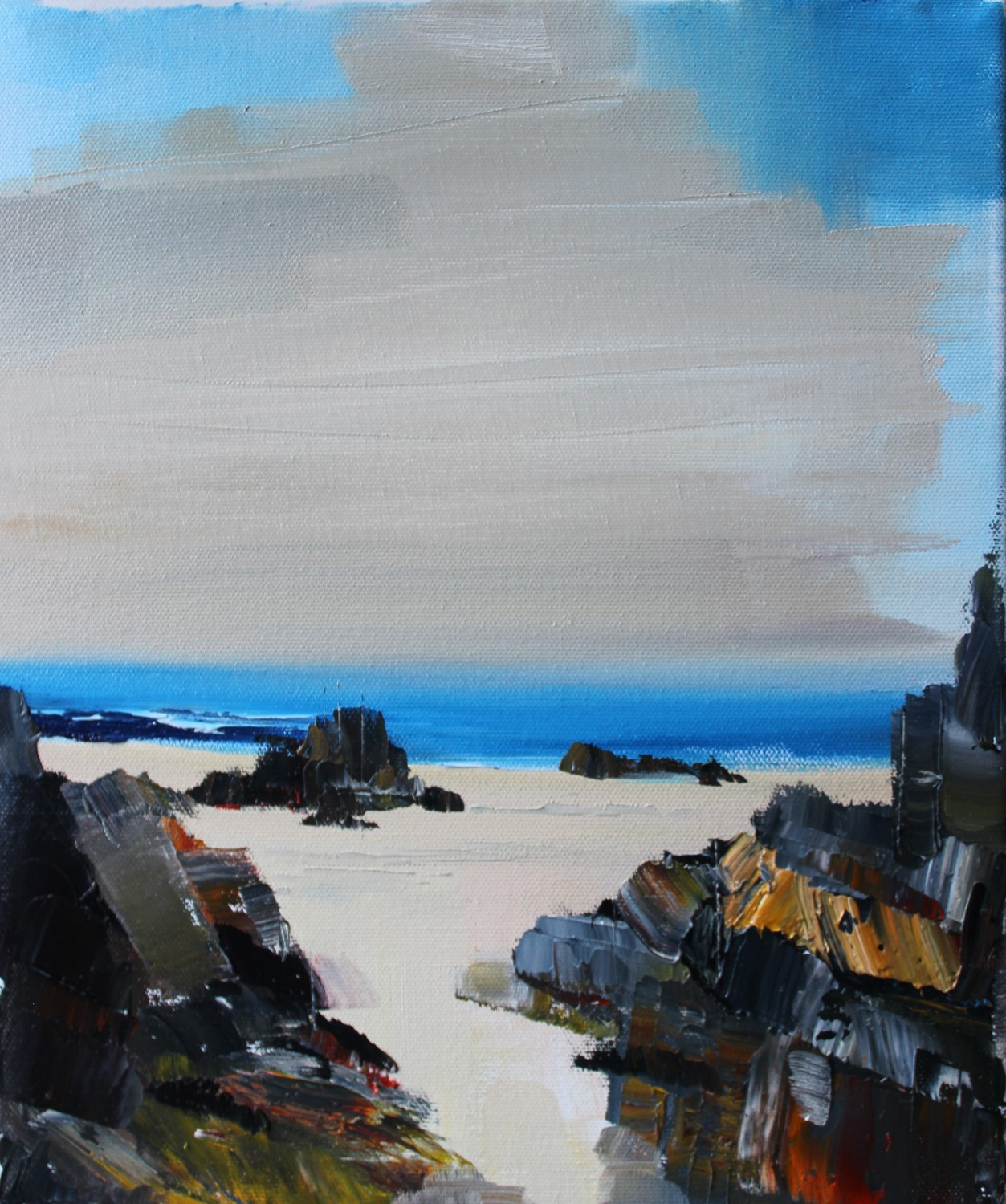 'Blue Ocean View' by artist Rosanne Barr