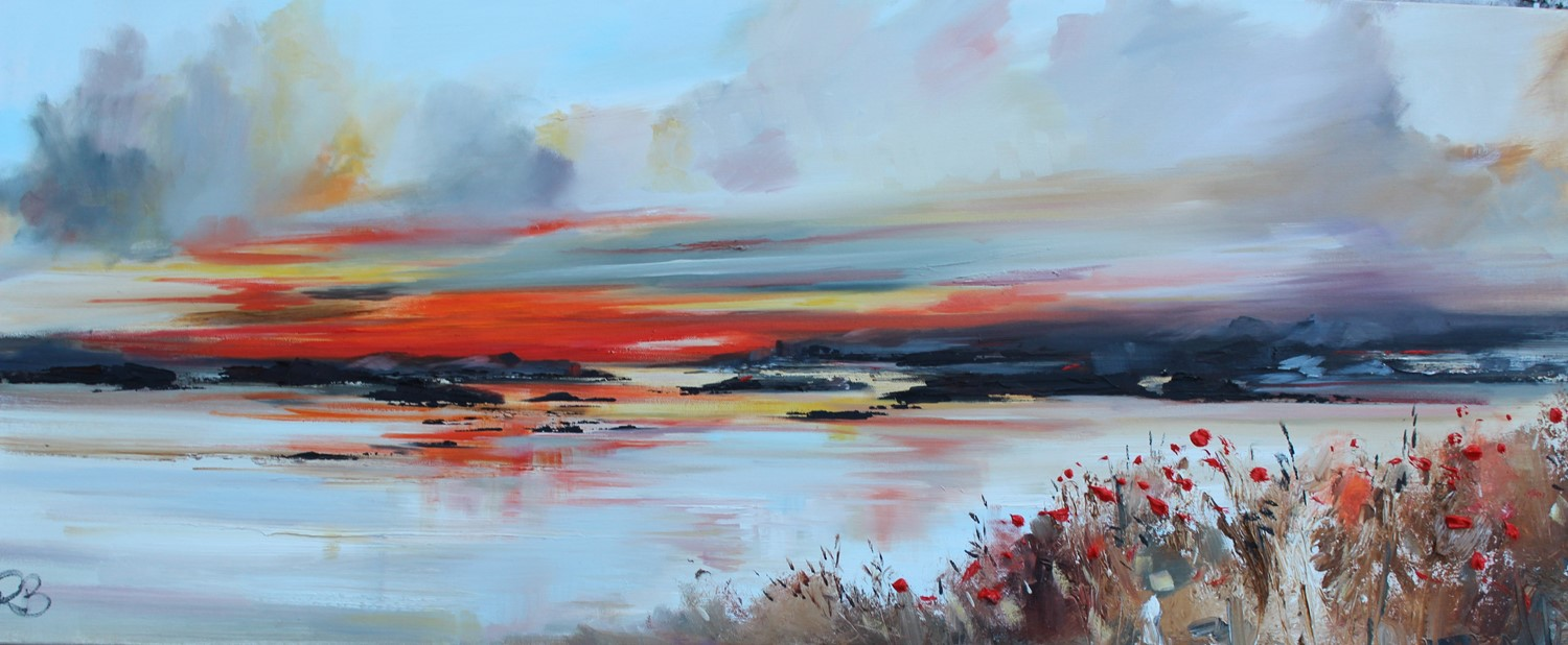 'A Pathway of Poppies' by artist Rosanne Barr