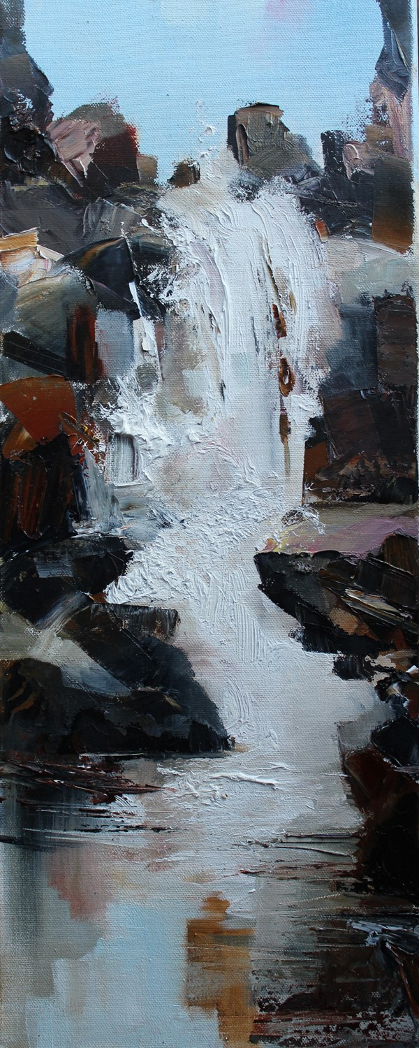 'The Falls after the Rain' by artist Rosanne Barr