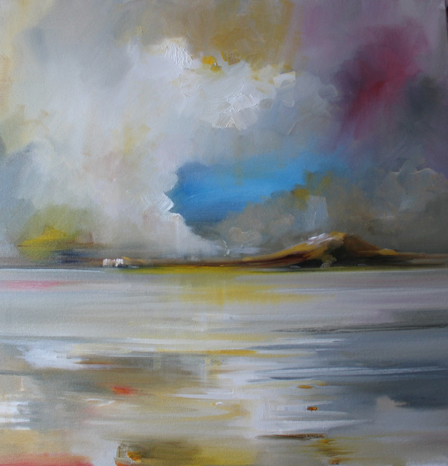'Storm Clouds are Clearing' by artist Rosanne Barr