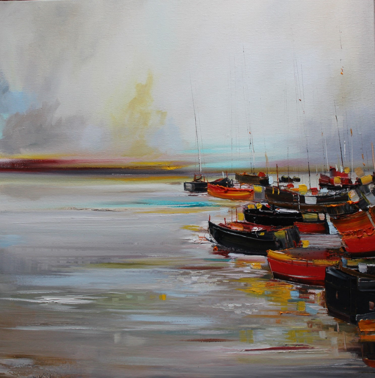 'Still Waters at the Harbour' by artist Rosanne Barr