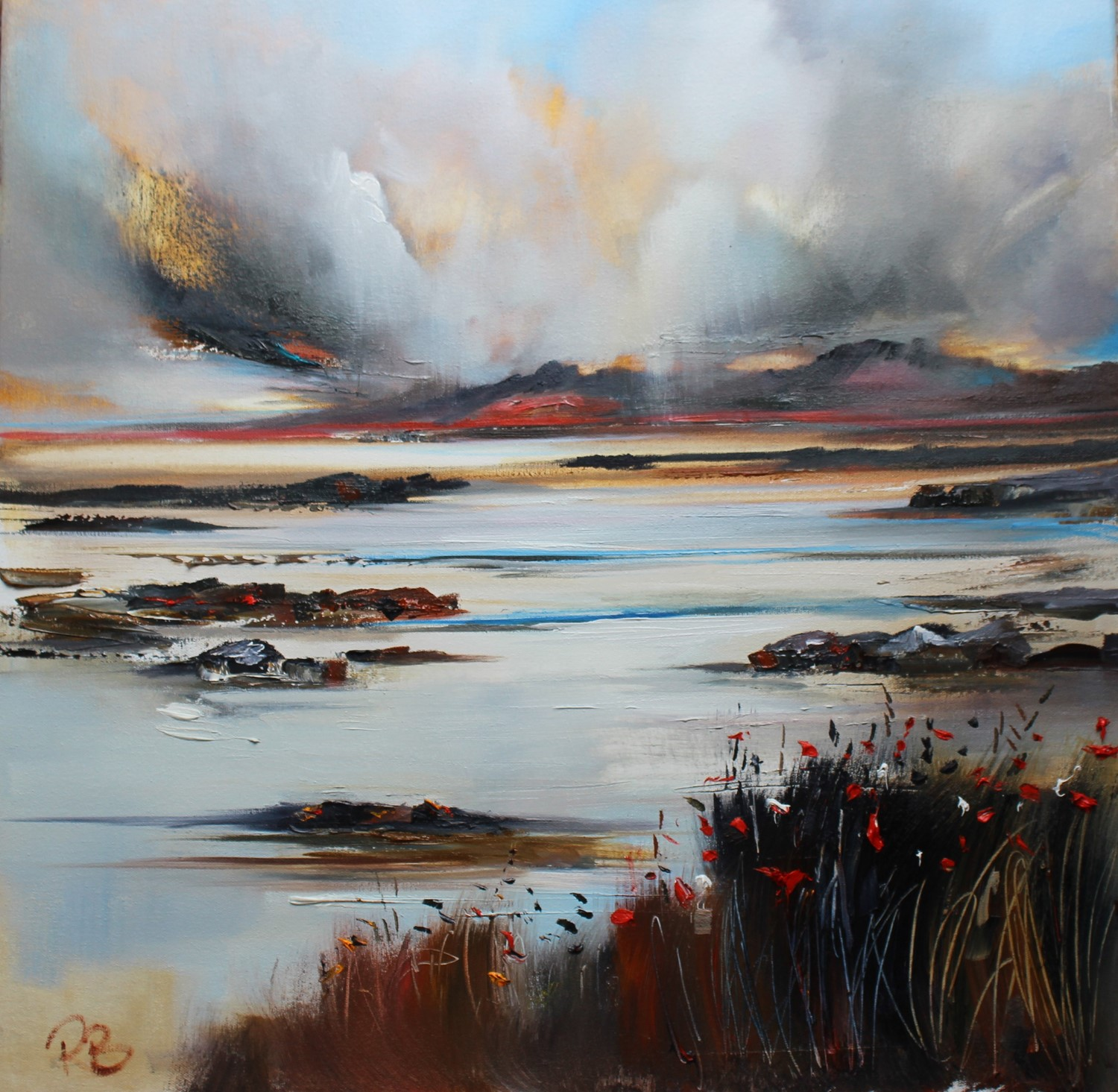 'Dramatic Light' by artist Rosanne Barr