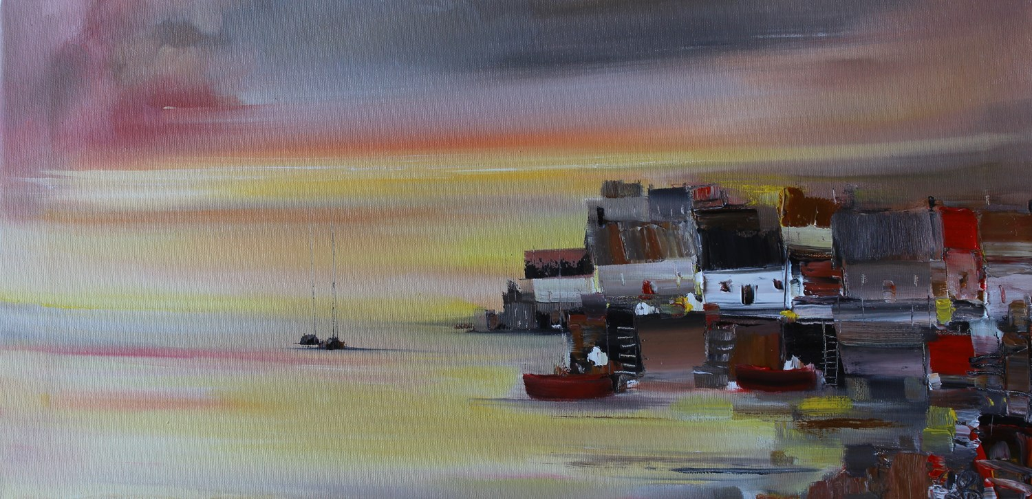 'Home on the Harbour' by artist Rosanne Barr