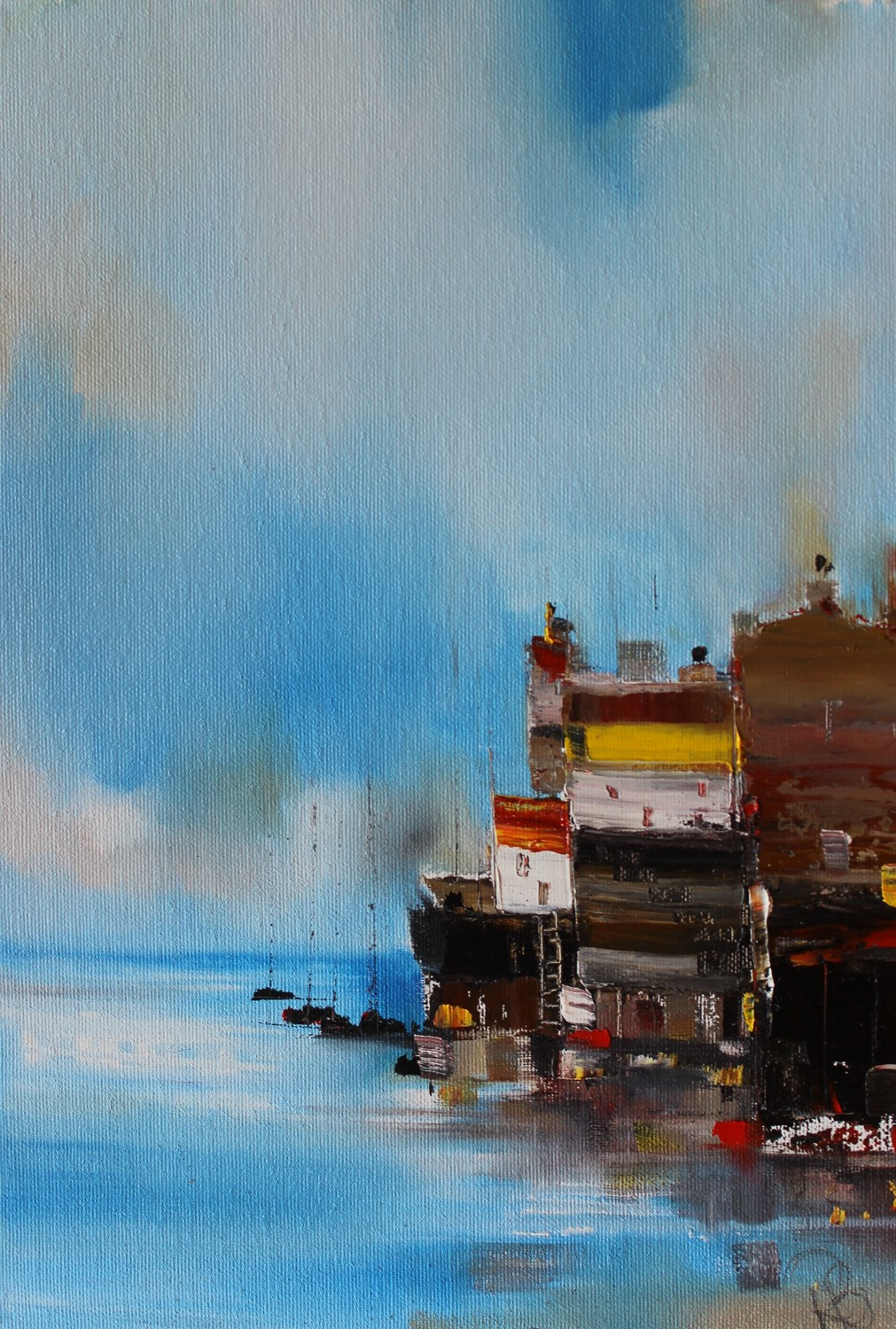'Home by the Sea' by artist Rosanne Barr