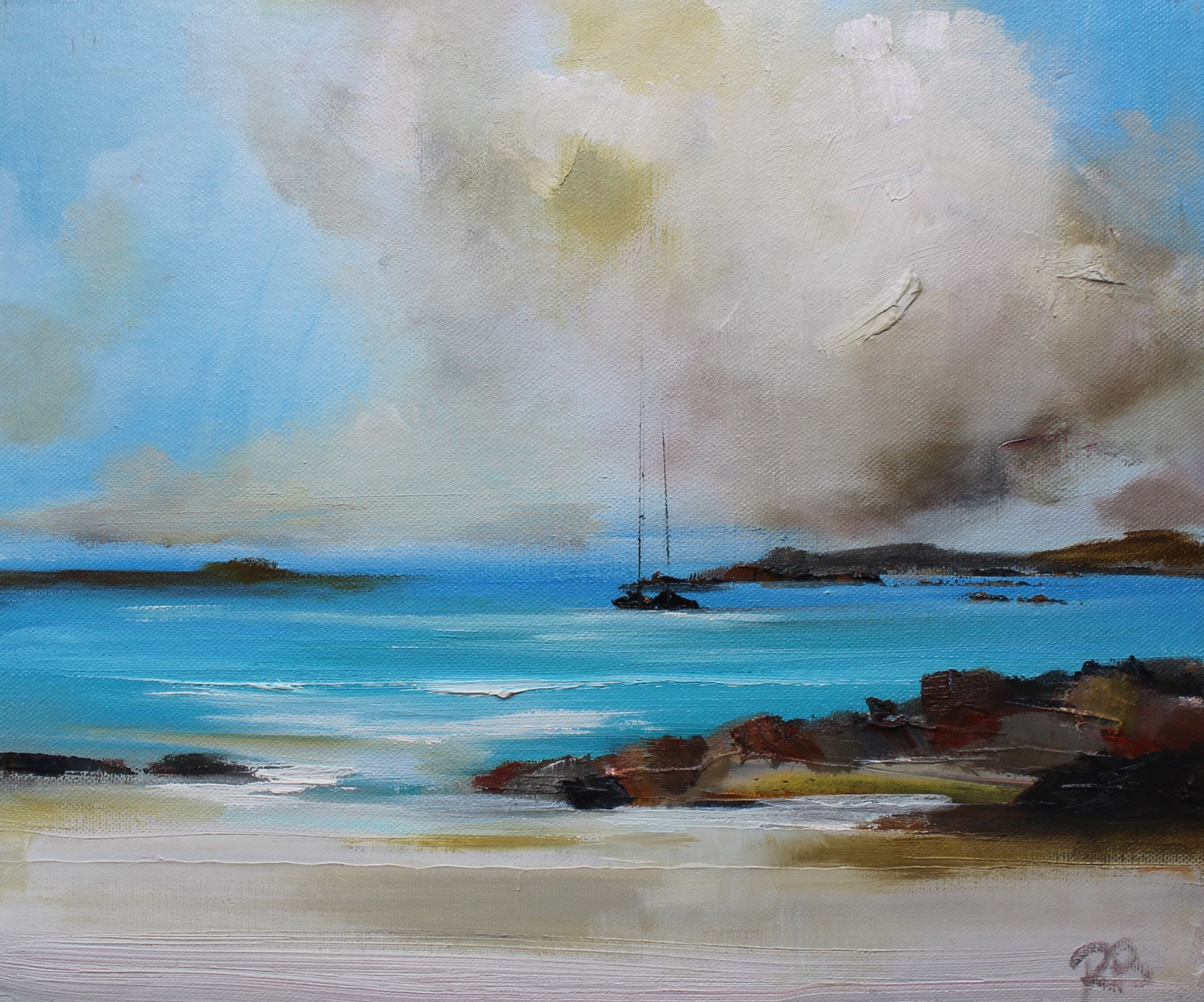 'A Billowing Cloud' by artist Rosanne Barr