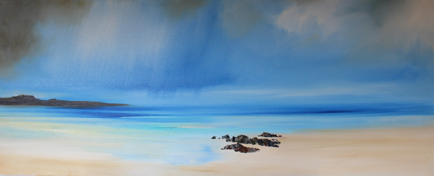 'Isle off the West Coast' by artist Rosanne Barr