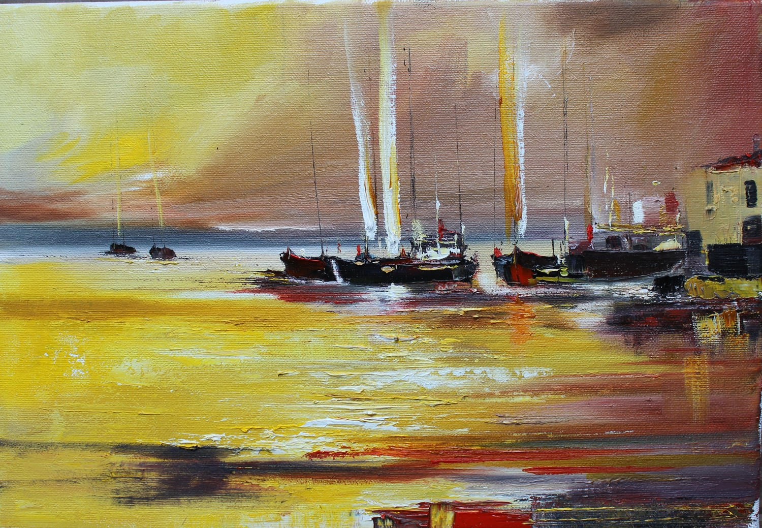 'On A Night Sailing' by artist Rosanne Barr