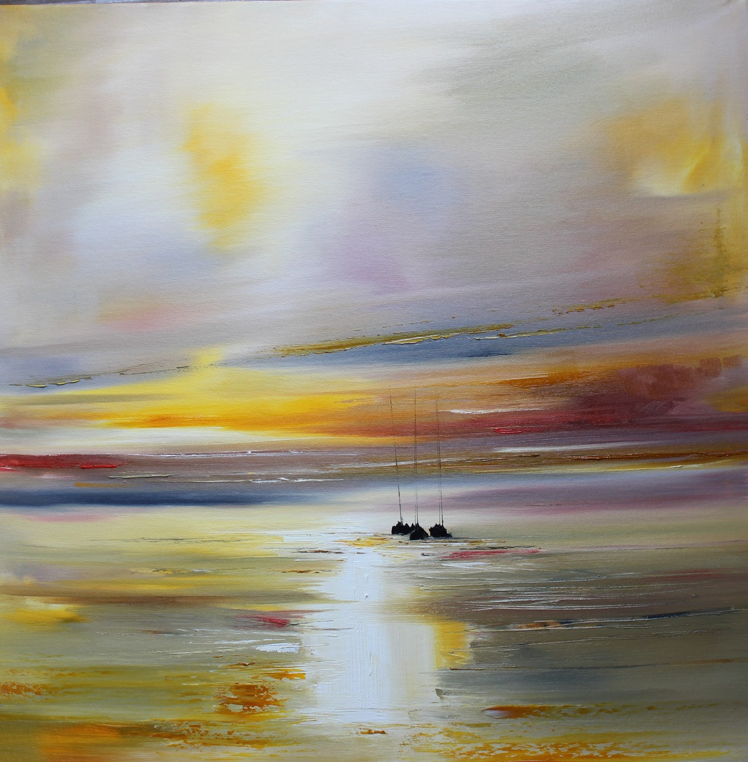 'A Path of Light on the Sea' by artist Rosanne Barr
