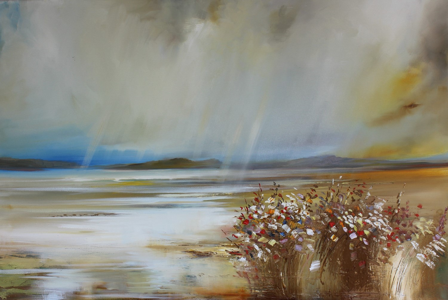 'The Scottish Weather' by artist Rosanne Barr
