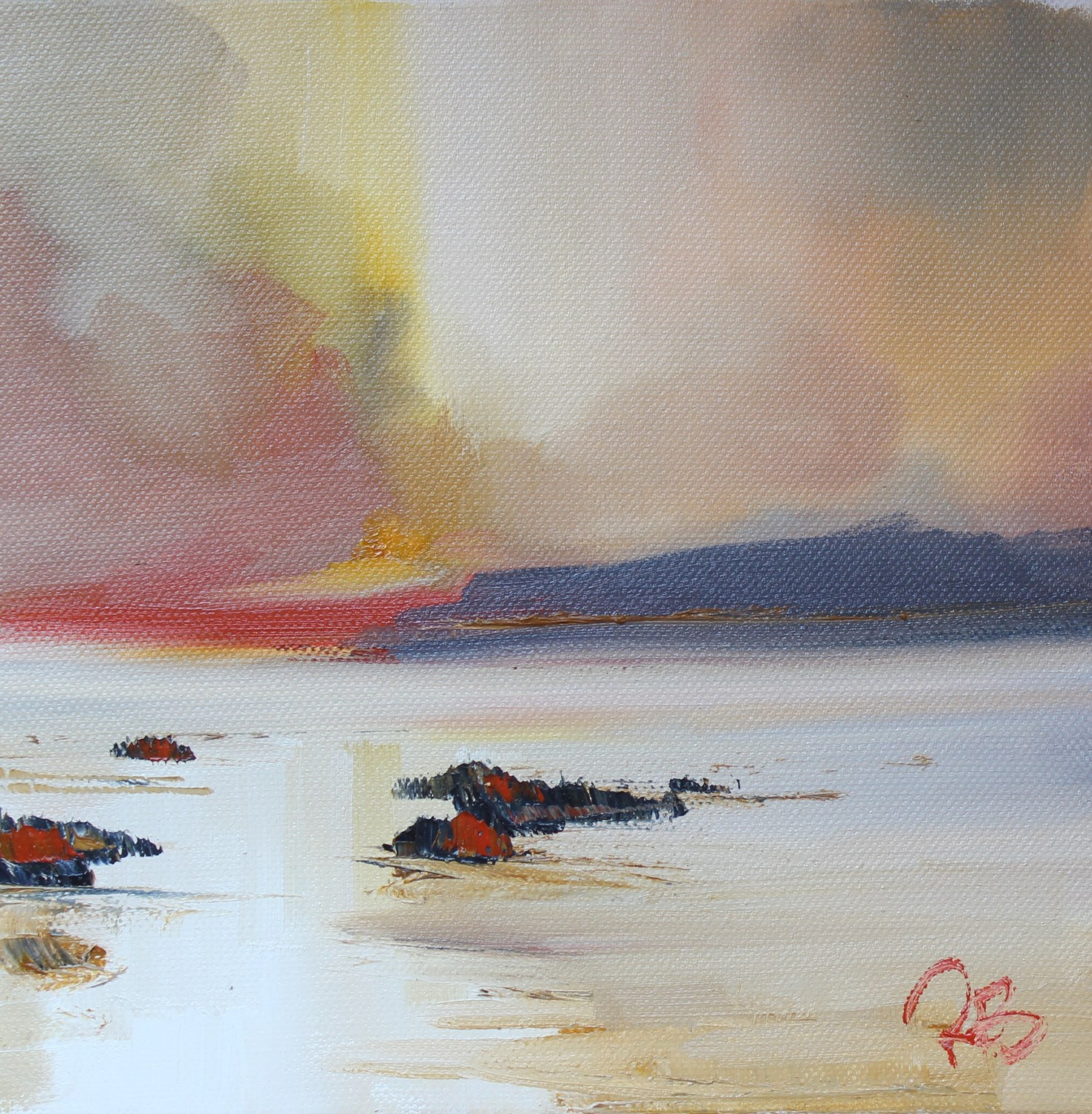'Solitude at Sunset' by artist Rosanne Barr