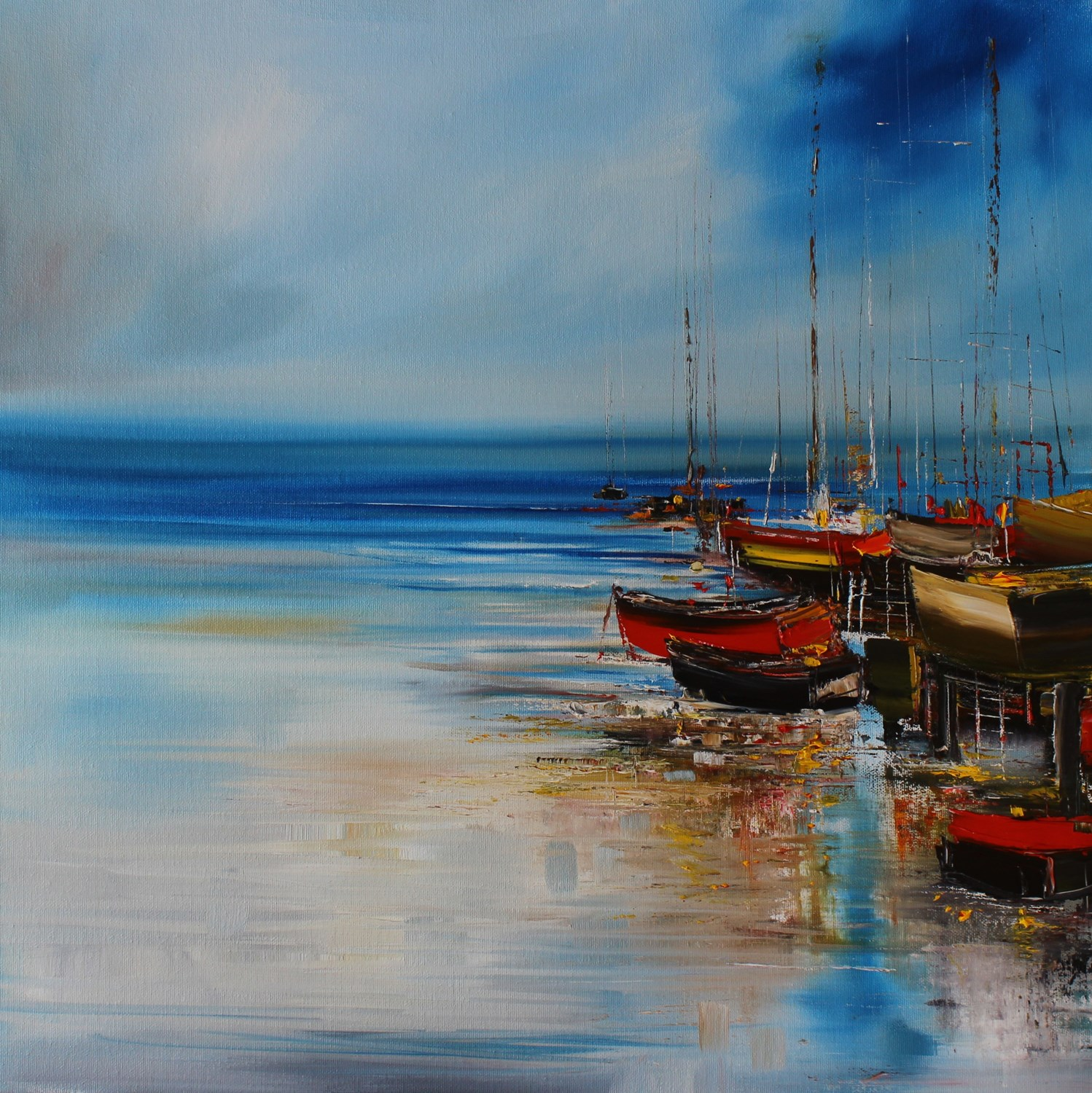 'All Ashore' by artist Rosanne Barr