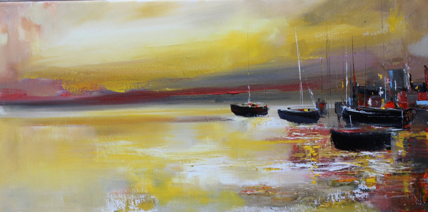 'Lighting Up the Harbour' by artist Rosanne Barr