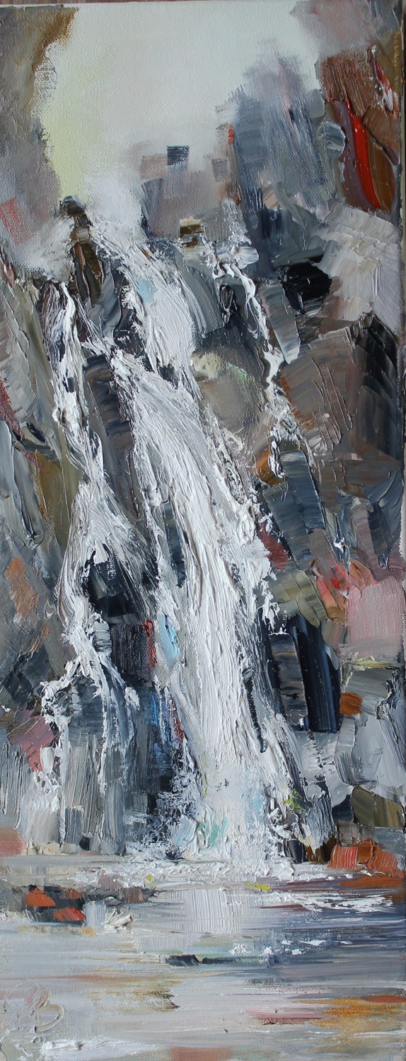 'Waterfall Cove' by artist Rosanne Barr