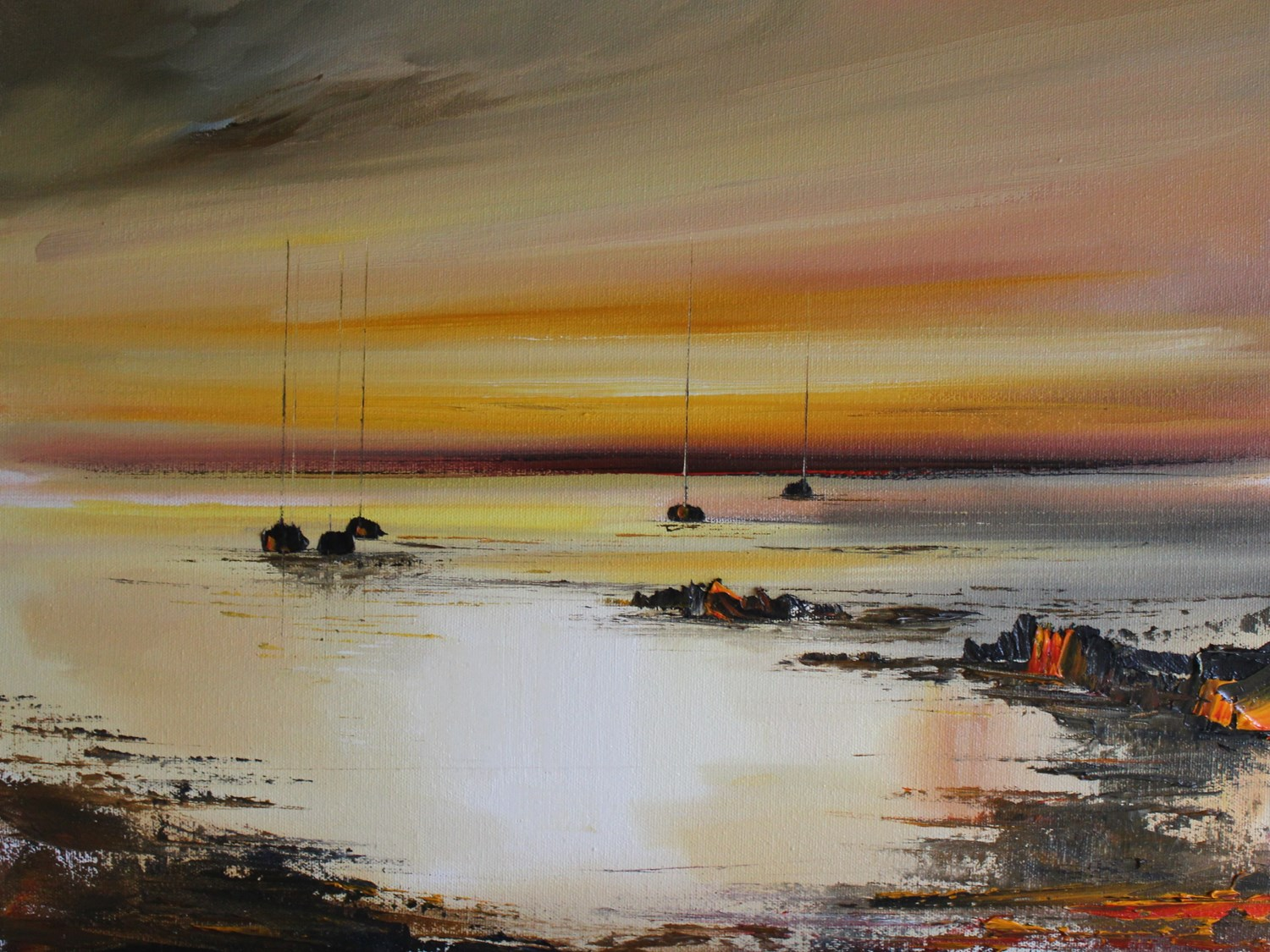 'At Twilight' by artist Rosanne Barr