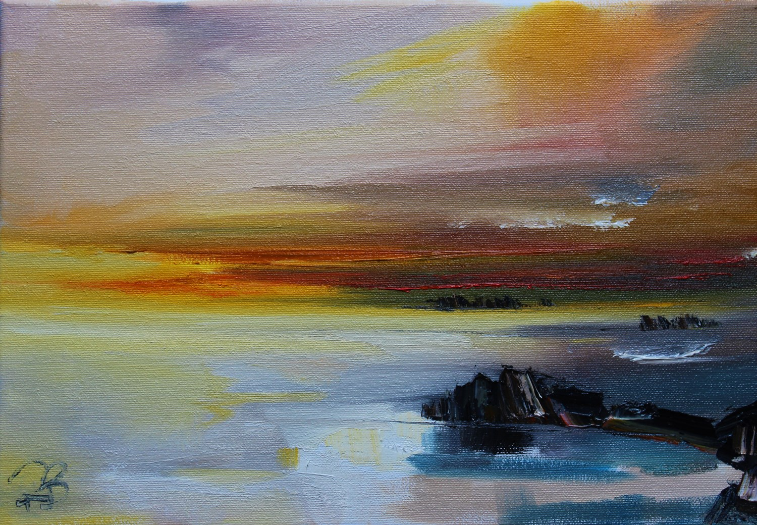 'Pool reflections' by artist Rosanne Barr