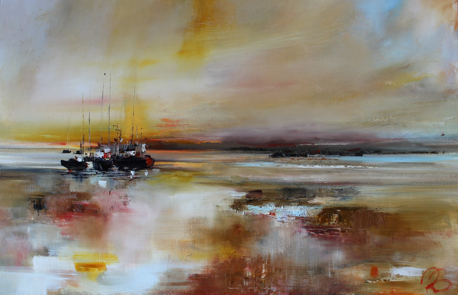 'Heading for Home ' by artist Rosanne Barr