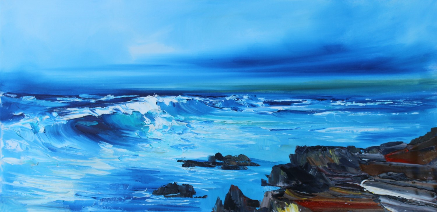 'Making Waves' by artist Rosanne Barr