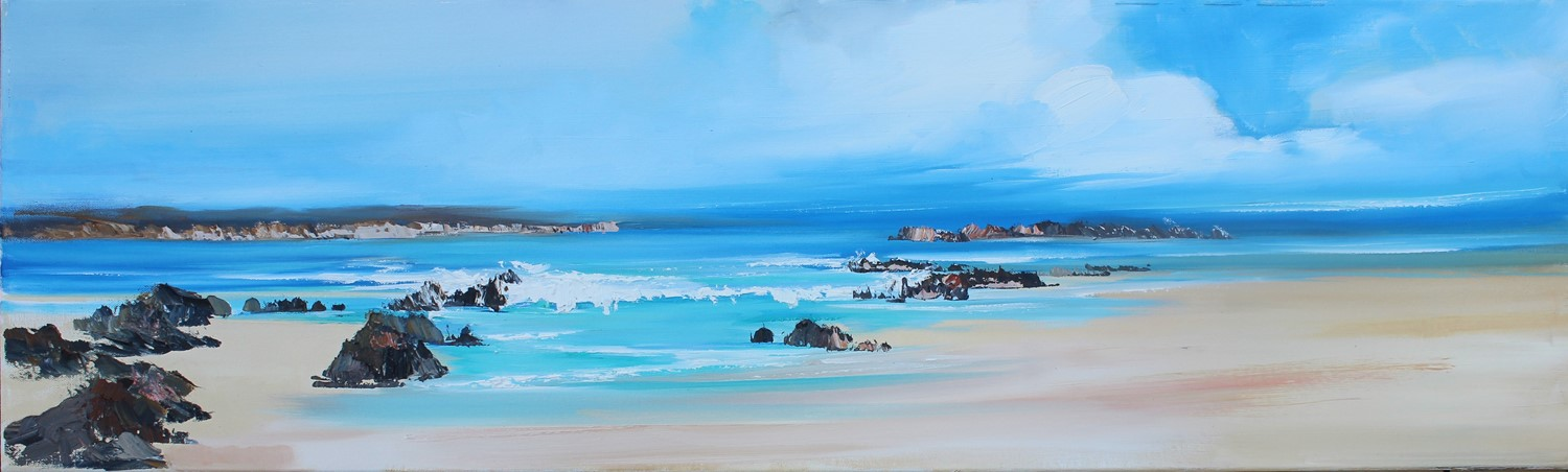 'A Sweeping Bay ' by artist Rosanne Barr