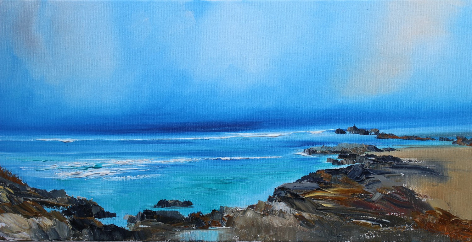 'Surrounded by the Sea' by artist Rosanne Barr