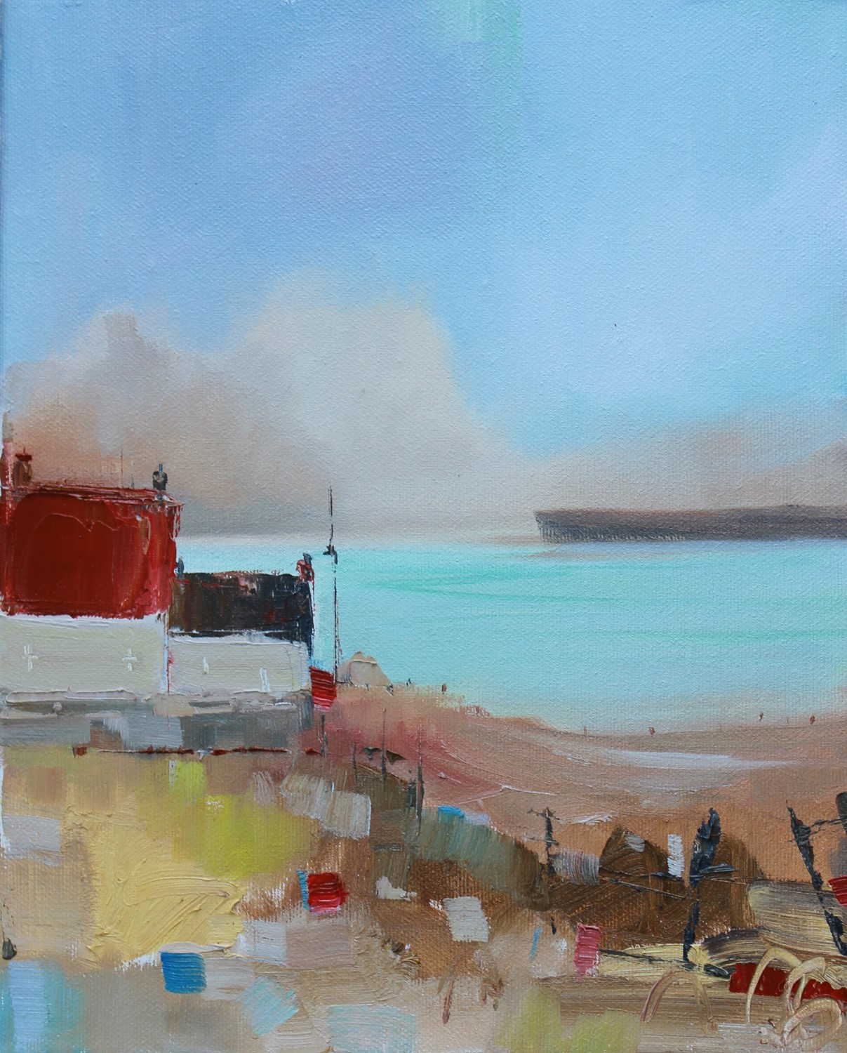 'Croft on the Coast' by artist Rosanne Barr