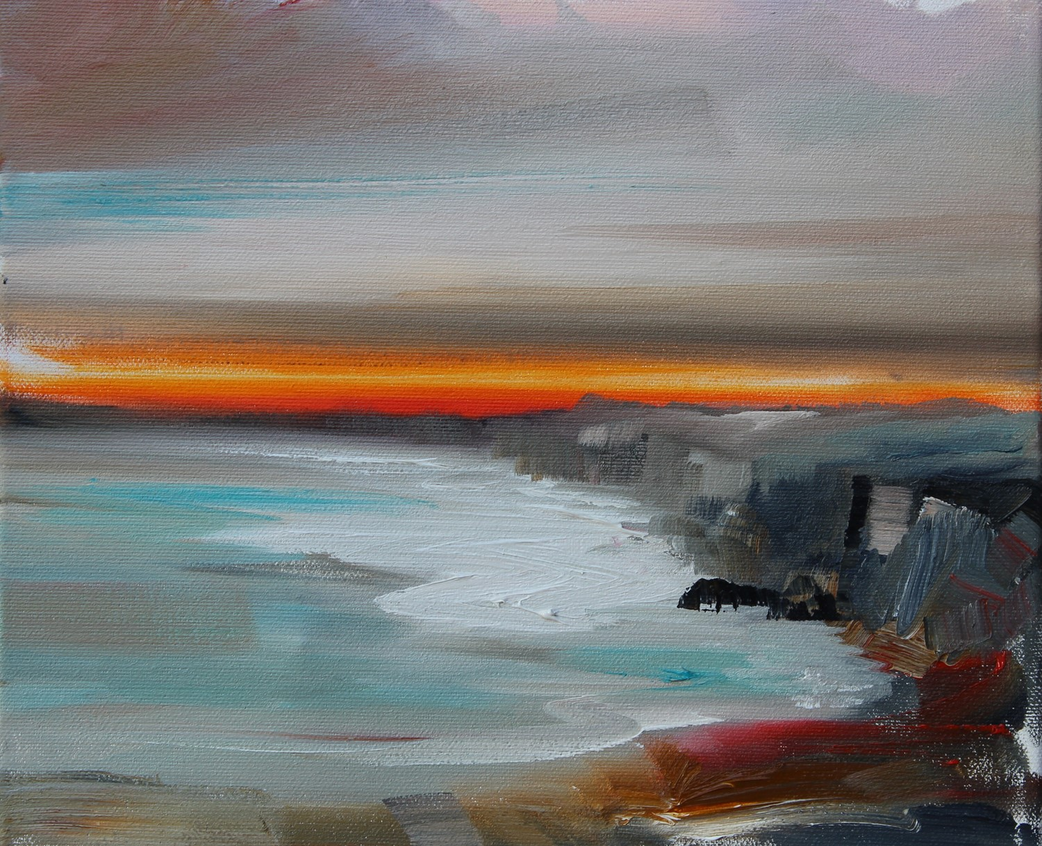 'From the Cliffs to the Shore ' by artist Rosanne Barr