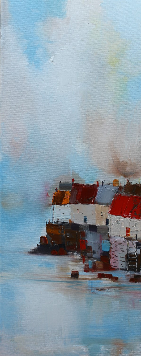 'High Tide Houses' by artist Rosanne Barr