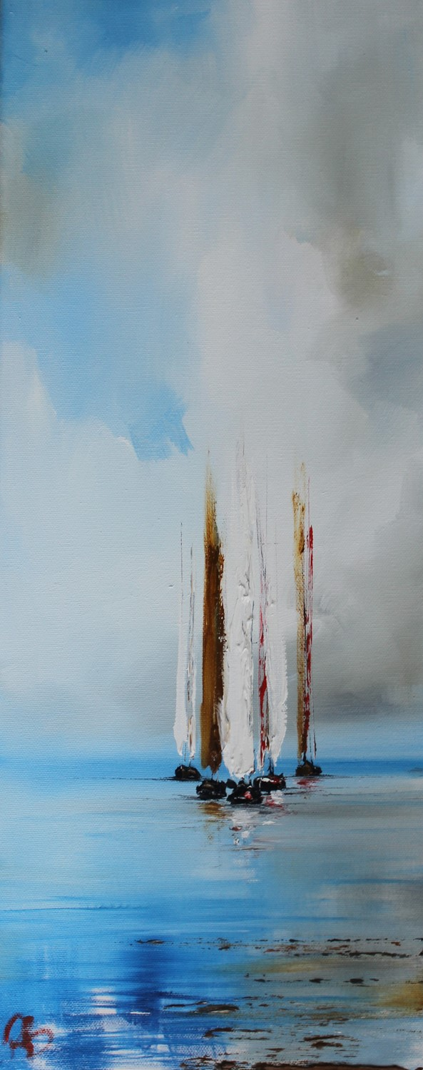 'Group of Sails' by artist Rosanne Barr