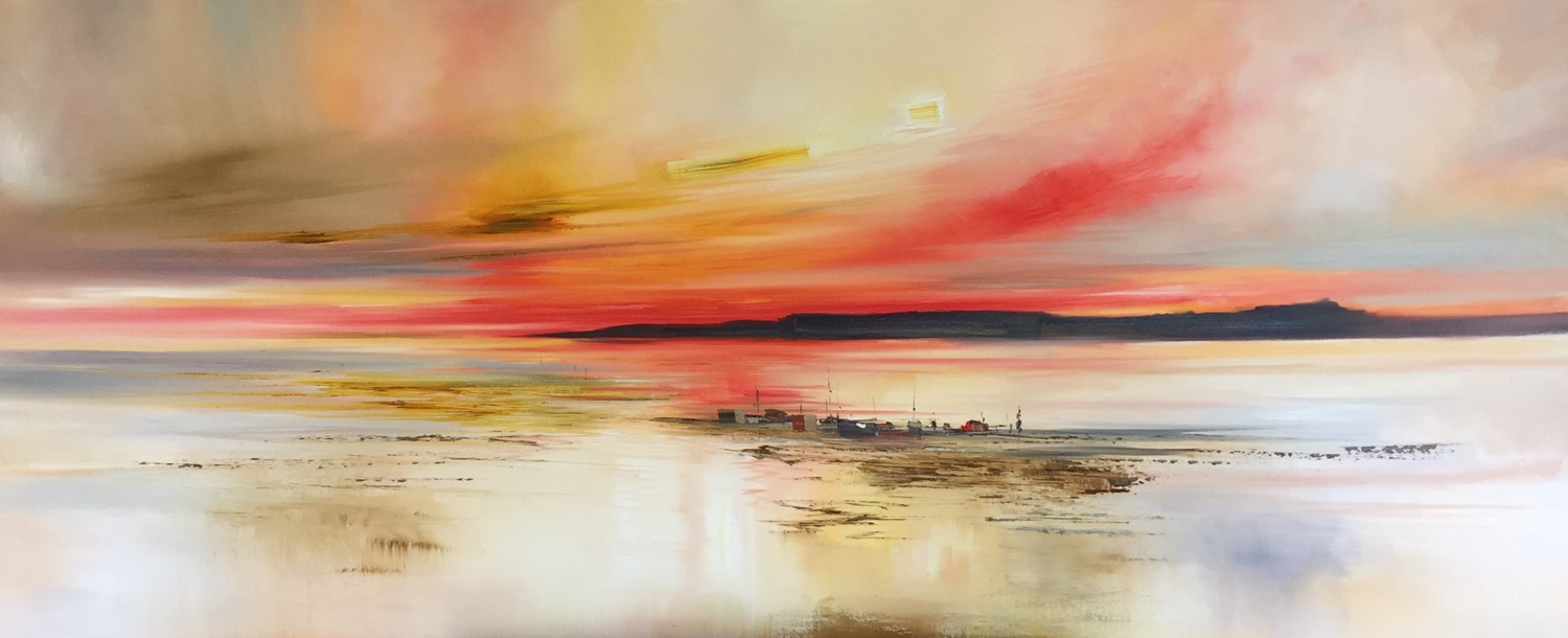 'As the Night Falls' by artist Rosanne Barr