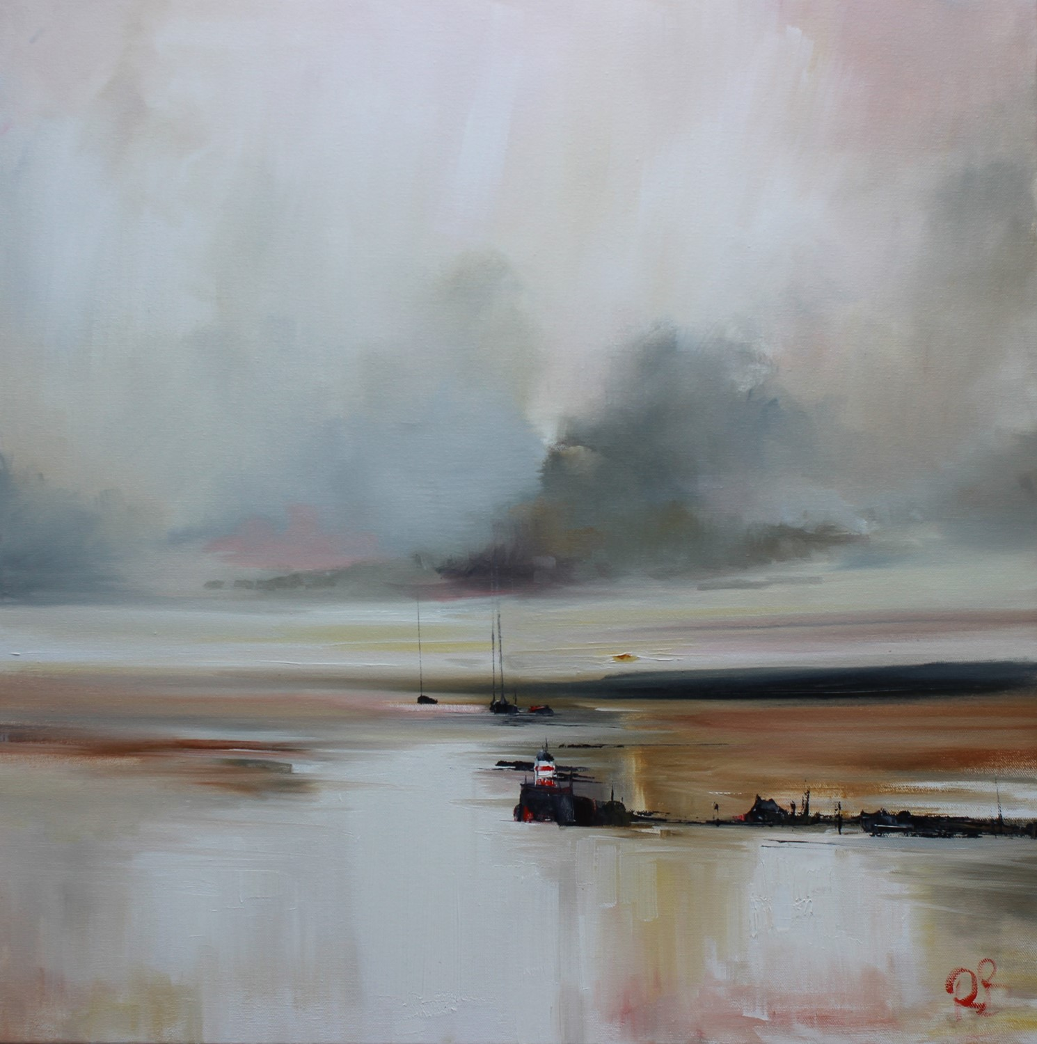 'A Beacon of the North' by artist Rosanne Barr